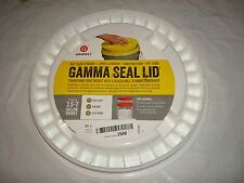 Gamma Seal Lid, Fits a 3.5-7 Gallon Bucket, White