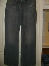 Next Premier Collection Jeans Blue stonewashed with sequins Bootfit size 12R