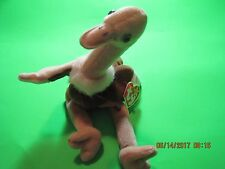 RARE TY RETIRED BEANIE BABY STRETCH 1999 NWT TAG ERRORS