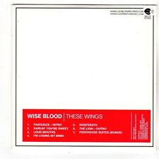 (FS178) Wise Blood, These Wings - 2011 DJ CD