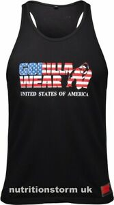 Gorilla Wear USA Tank Top - Black 3XL