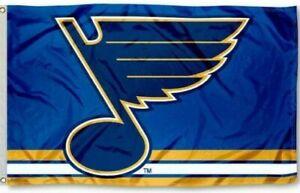St Louis Blues 3x5 Foot Banner Flag NHL Hockey New