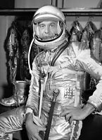 1961 Alan Shepard MERCURY MISSION PHOTO,1st Astronaut in Space FREEDOM 7 Suit