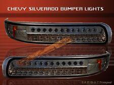 99-02 CHEVY SILVERADO SMOKE LED BUMPER LIGHTS 00 01