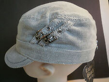 Laguna Beach Jean Co. Hat Cap Gray Size S/M 1123GR 65% Cotton/35% Polyester New