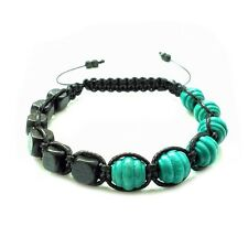 men's bracelet shamballa handmade gift wood beads cuff wristband accessory men