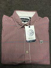 Duck & Cover Gingham Check Shirt - Medium SRP £45