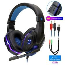 Cascos Gamer Auriculares Audifonos Gaiming Gaming Para PC Xbox One 360 PS4 PS3