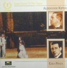 2erCD ALEXANDER KIPNIS / EZIO PINZA - great voices of the opera
