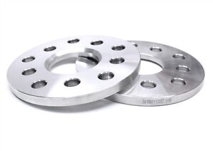 (2) 10mm Thick Hub Centric Wheel Spacers   5x100 5x112   57.1 CB   Most Audi VW