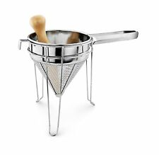NEW Star 42566 3-Piece Stainless Steel Chinois Strainer Set Food Mill Sifter