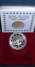 """2 euros Belgium 2015 Proof """"European Year of Development"""""""