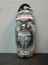 Titanium Die-Cast Micro Machines Star Wars Battle Ravaged Millennium Falcon
