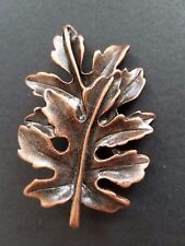 Leaf Nature Pin Fall Spring Autumn Tree - Gold or Bronze - Brooch - Jewelry NEW