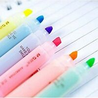 6pcs Highlighter Pens Cute Ninja Permanent Markers Fine Point Tip Novelty Sta WQ