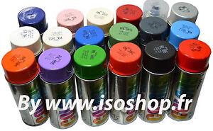 Bombe de Peinture RAL Sélection couleur aérosol 400ml