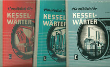 Handbuch für Kesselwärter Band 1-3 komplett