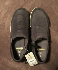 George Men's Gray Mesh Memory Foam Slip-on Casual Sneakers/Shoes: size 9