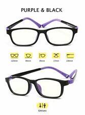 Kids Blue Light Blocking Glasses Gaming Computer Reading Anti Eye Strain UV 100%