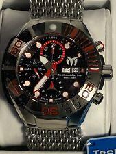 Rare!TechnoMarine Reef SWISS  MADE ETA Valjoux 7750 Chrono Auto Watch TM-515023