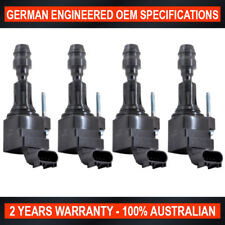 4x OEM Quality Ignition Coil for Holden Captiva 2.4 Saab 9-3 9-5 2.0 Turbo
