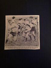 62-11 Ephemera 1968 Picture Rugby Ronnie Mungles Haye V Camborne