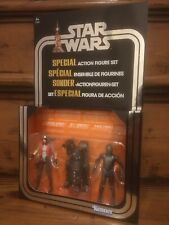 "STAR Wars 3.75/"" solo WAVE 4 Set Tobias VAL RIO Durant L3-37 Guardia Reale in magazzino"