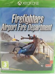 Firefighters Airport Fire Department Xbox One - NEW