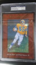 2016 HA Series 2 Art of Football Goal Line TOM FEARS RAMS HOF PSA 8 AUTO 2/4