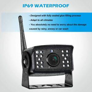 Digital Wireless Truck Reversing Camera IP69 Waterproof Night Vision For Monitor