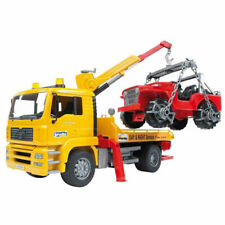 BRUDER MAN TGA Breakdown Truck with Cross Country Vehicle - Yellow (02750)