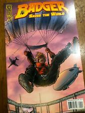Badger Saves the World #4 - Mike Baron - Idw, 2008