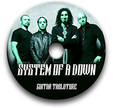 SYSTEM OF A DOWN SOAD ROCK METAL GUITAR TAB TABLATURE SONG BOOK SOFTWARE CD