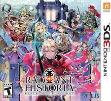 Radiant Historia: Perfect Chronology [Nintendo 3DS Anime RPG Anime Atlus] NEW