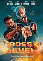 Boss Level DVD - Mel Gibson + Frank Grillo - Brand New w/ Free Ship!