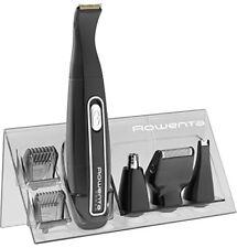 Rowenta Kit Mini Groomer Regolabarba 3 regolazioni Ricaricabile Waterproof Nero