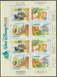 CANADA # 1621c BOOKLET FEATURING WINNIE the POOH STAMPS