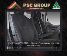 Seat Cover Ford Transit Custom Front Bench Bucket Waterproof Premium Neoprene