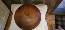 HUGE WOODEN BOWL,GREAT PATINA,OUTTA ROUND,LARGE LIP