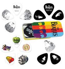 BEATLES Guitar Picks 15 Pack Tin Box 2nd OFFICIAL MERCHANDISE