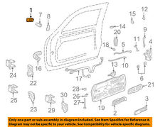 GM OEM-Outside Exterior Door Handle Left 15742229