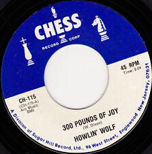 "HOWLIN' WOLF - 300 Pounds Of Joy 7"" 45"