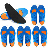 New GEL Orthotic Shoe Insoles Inserts Flat Feet High Arch For Plantar Fasciitis