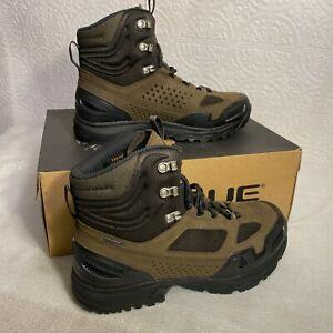 Vasque Mens Breeze WT GTX 7868 Brown Olive Waterproof Hiking Boots Sz 9.5 Medium