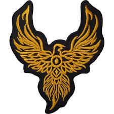 Phoenix Iron On Patch Bird Animal Biker Motorcycle Eagle Sew Embroidered Badge