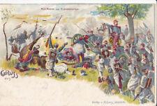 Guerre 14-18 Propagande Patriotique Allemande GRUSS 1870 MAC MAHON ALSACE