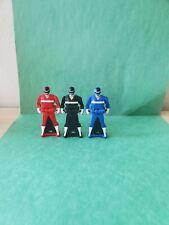 Power Rangers Super Megaforce Keys 3-Pack In Space Red, Blue, Black