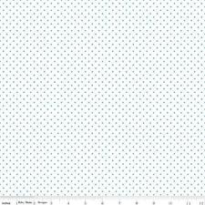 Aqua Polka Dot Fabric Riley Blake Swiss Dot Aqua Quilting Fabric By The 1/2 Yard