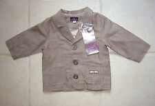 VESTE cérémonie 6 MOIS bébé garçon sergent major NEUF étiquetté BABY BOY 6 MONTH