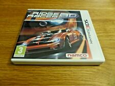 Ridge Racer 3D NINTENDO 3DS Completo Inmaculado Reino Unido PAL + CLUB NINTENDO puntos